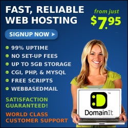 Fast, Reliable Web Hosting